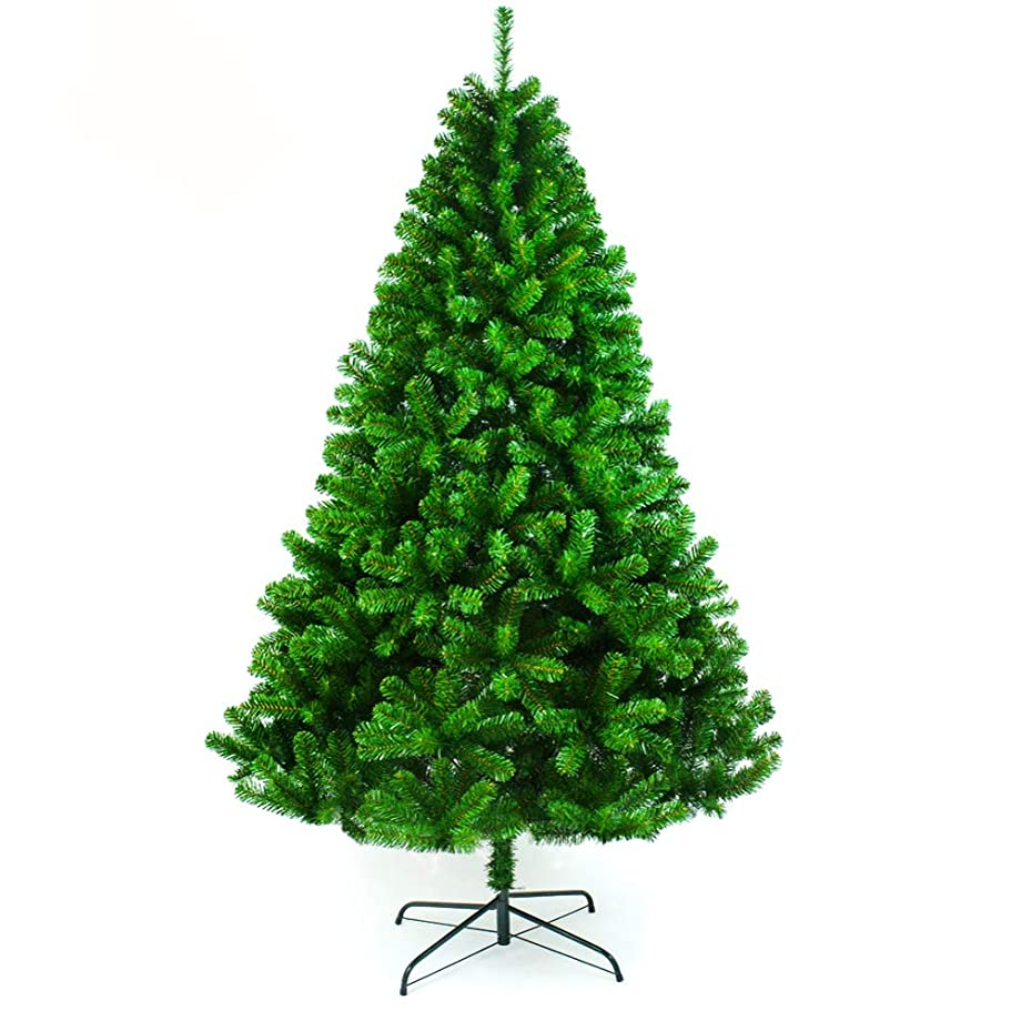 取り出す本類似性ヒンジ プレミアム 人工 クリスマスツリー, 固体金属の脚 完全なツリー 式 車-スプレッド 家の装飾- 240cm(94inch)