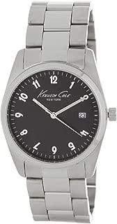 Kenneth Cole New York Women's 10024370 Genuine Diamond Analog Display Japanese Quartz Silver Watch