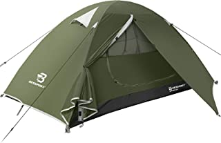 Bessport Camping Tente 1 et 2 Personnes et 4 Personnes Ultra Légère Facile à Installer..