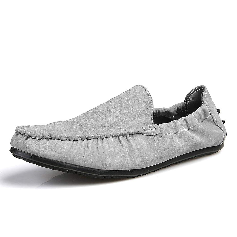 [ワイエルワイ] ビジネス カジュアル 耐久 防滑 シューズ 通気 簡単着脱 軽量 革靴 メンズ