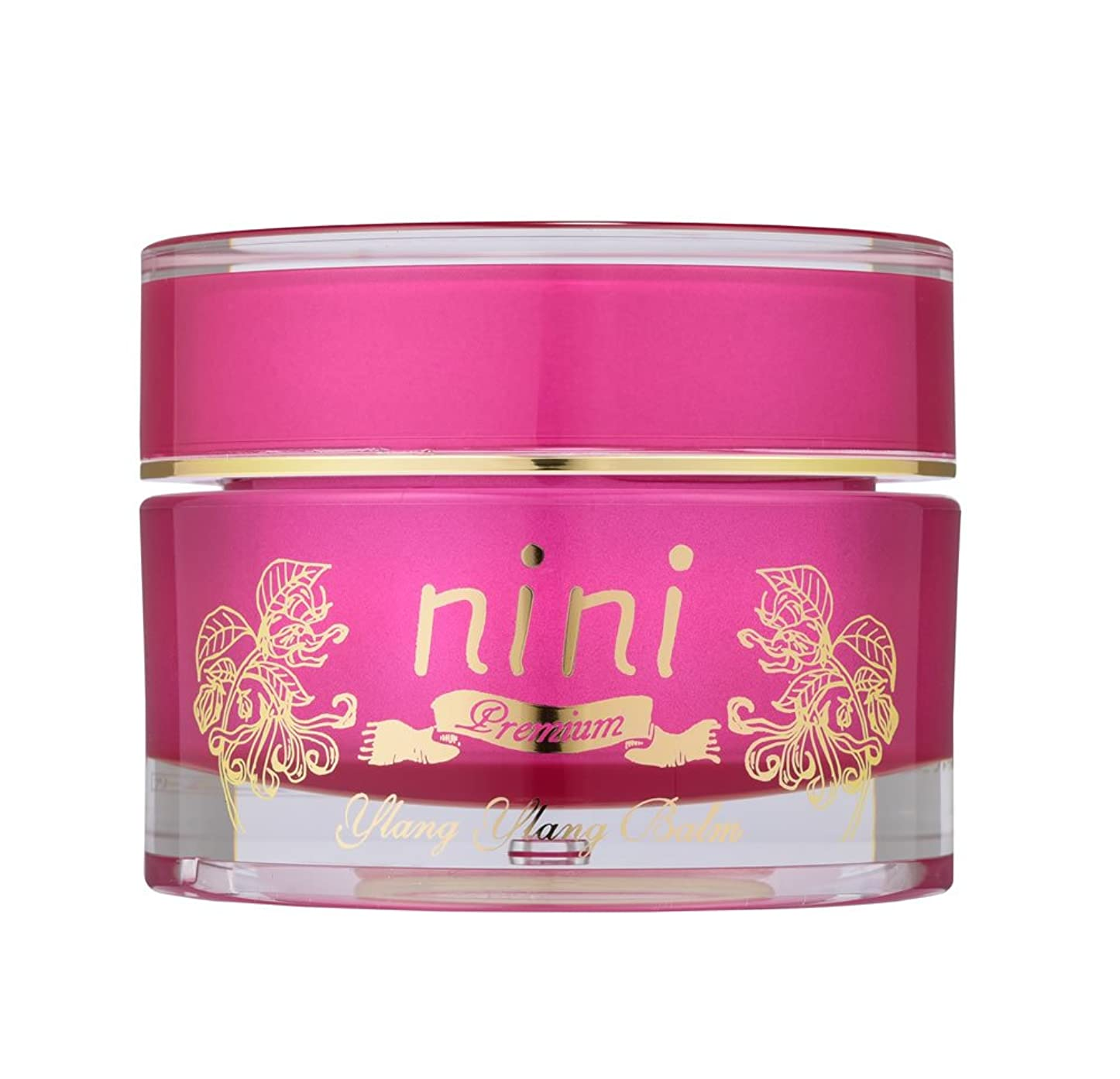 メトロポリタン蒸発少ないnini Premium(ニニ プレミア) イランイランバーム(ジャスミンオイル?ダマスクローズオットーを配合) 60ml