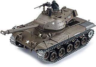 2.4Ghz Radio Control 1/16 US M41A3 Walker Bulldog Tank Super Metal w/Smoke Sound