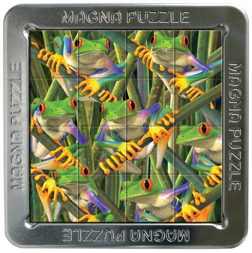 Cheatwell Games 3D Magna puzzel kikker (boom)