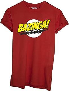 MUSH T-SHIRT BAZINGA BIG BANG THEORY-SERIE TV by Dress Your Style