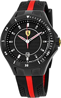 Ferrari Race Day Quartz Movement Black Dial Men's Watch 830079