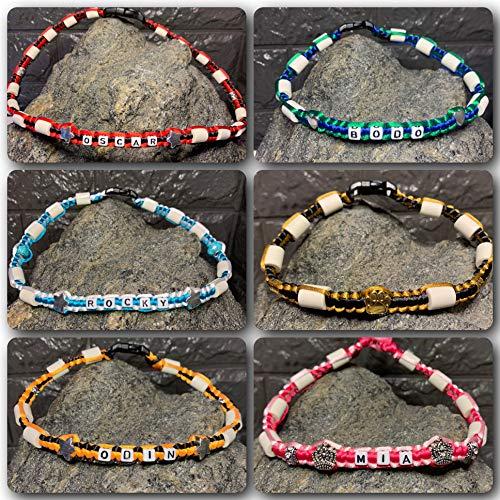 Bailey Bijoux EM Keramikhalsband für Hunde/Zeckenhalsband * Made by Zecken/Online gestalten