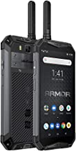 Điện thoại di động Android – Rugged Unlocked Cellphone Ulefone Armor 3WT,Walkie Talkie Smartphone,IP68 Waterproof Android 9.0 Dual 4G Global Version Mobile Phone (Black, 3WT)