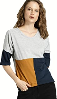 JUNEBERRY Regular Fit Cotton T-Shirt for Womens and Girls