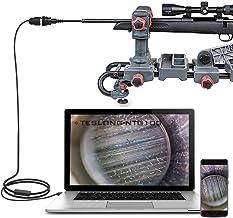 Teslong Rifle Borescope, Bore Camera Gun Cleaning Camera – Fits .20 Caliber &..