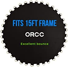 ORCC Trampoline Jumping Mat Fits 15FT Frames has 108 V-Rings Fits 7