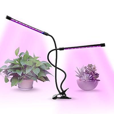 JandCase 20W Grow Light Lamp, Auto On/Off, 3/9/...
