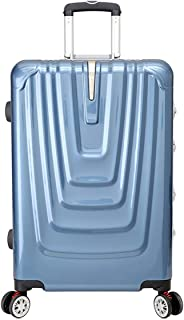 "SRY-Luggage ABS+PC Convenient Trolley Case,Super Storage Luggage Bag,Wheels Travel Rolling Boarding,20"" 24"" Inch Durable Carry on Luggage (Color : Blue, Size : 20inch)"