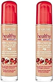 2 x Bourjois Healthy Mix Serum Gel Foundation 51 Light Vanilla 30ml New & Sealed