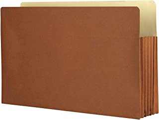 The File King, Red Accordion File Folder, Expansion Packs (10 Pack, Legal, 3.5