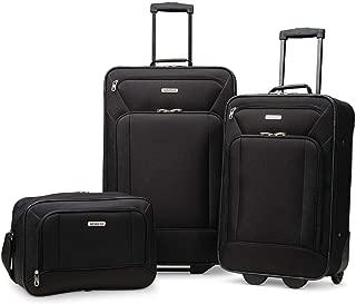 Fieldbrook XLT Softside Upright Luggage, Black