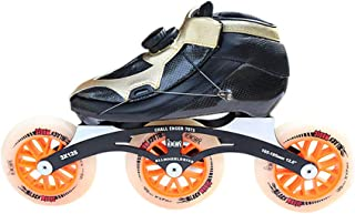 Inline Skates Adult/Child Carbon Fiber Thermoplastic Single Row Speed skate Professional Inline Speed Skating Shoes Best Gifts For Family And Friends