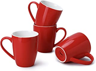 Best red mug cafe Reviews