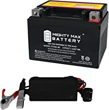 Mighty Max Battery YTX4L-BS Battery Replaces Honda TLR200 Reflex 91-96 + 12V 1A Charger Brand Product