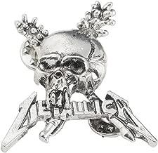 Metallica PIN Celebrates The Legendary Heavy Metal Band. Perfect for Fans of Kirk Hammett,& James Hetfield
