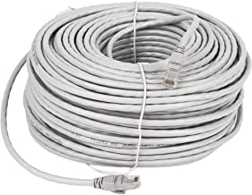 Lknewtrend 300FT Feet Cat6 Ethernet Patch Cable - UTP 550Mhz RJ45 Network Internet Wire Cord for Computer, PoE Camera, Router, Modem, Switch