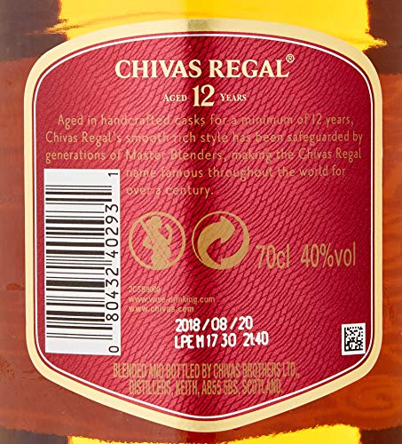 Chivas Brothers Chivas Regal 12 Years Old Blended Scotch Whisky (1 x 0.7 l) - 4