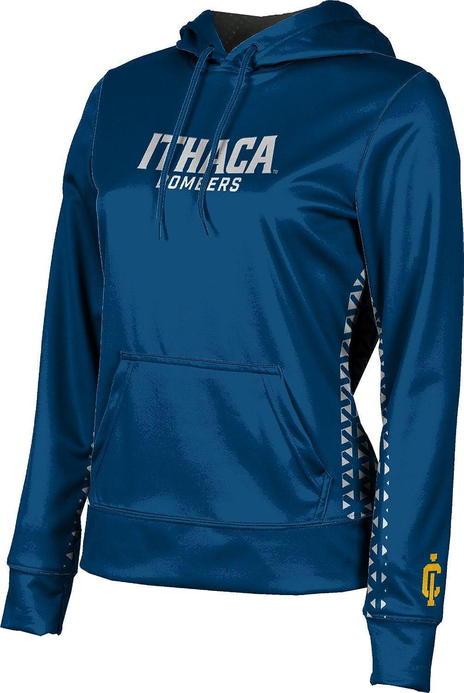 ProSphere Ithaca College Girls' Pullover Hoodie, School Spirit Sweatshirt (Geo)