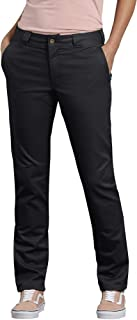Dickies Women's Double Knee Work Pant with Stretch Twill