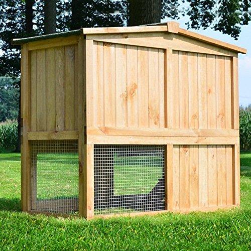Stall Nr 2 Kaninchenstall Hasenstall Kaninchenkäfig Hasenkäfig Meerschweinchenstall - 4