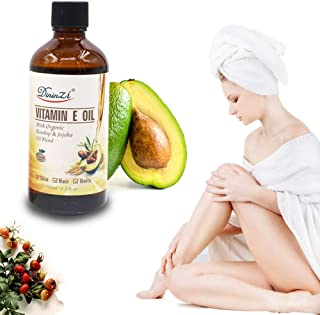 Pure Natural Organic Jojoba Oil+Avocado Vitamin E Essential