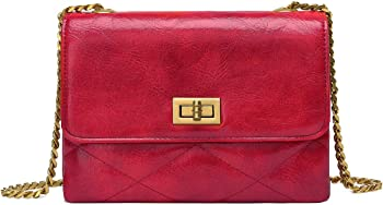 UTAKE Women's Crossbody Bags with Functional Multi Pocket