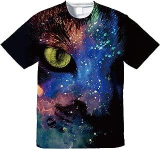 Galaxy Cat-Tシャツ【フルグラフィックTシャツ】