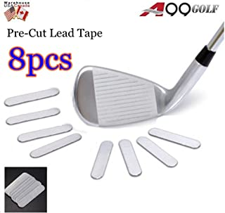 A99 Weighted Lead Tape Add Power/Weight on Golf Tennis Racket Iron Putter 8pcs/Set