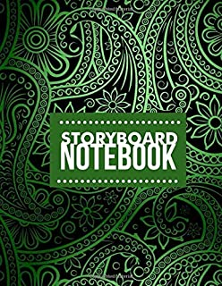 Story Board Notebook: Large Film Making Notebook Journal Logbook Planner Notepad Clapperboard for Creative Storytelling Story Drawing. Gifts for Movie ... With 120 Pages (Film Writing & Sketching Log)