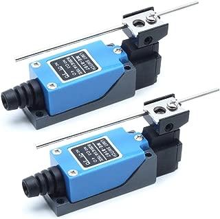 Mecion 2Pcs ME-8107 Adjustable Rod Lever Arm Momentary Limit Switch 1NC+1NO