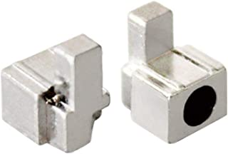 Kit de chaves de fenda com fecho de fivelas e botão de fivela JC para Nintendo Switch Joy-Con, 1Pair Metal lock
