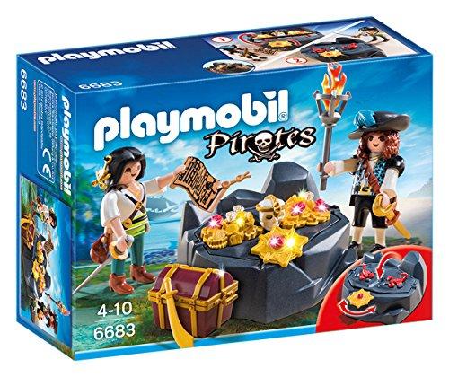 PLAYMOBIL: Escondite del Tesoro con Piratas