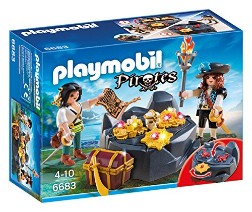 PLAYMOBIL - Escondite del Tesoro con Piratas 66830