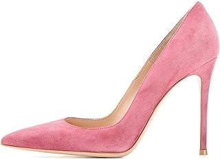 EDEFS - Scarpe col Tacco Donna - Elegante High Heels 10 CM - Tacco a Spillo - Chiuse Davanti Scarpe