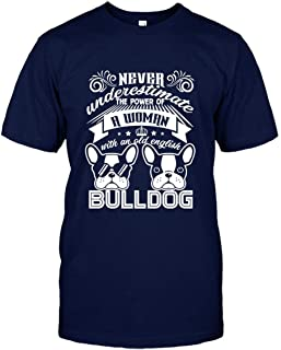 Woman with an Old English Bulldog Shirt, Mens Shirt, Womens Shirt