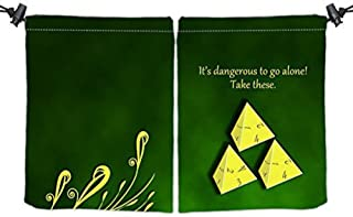 It's Dangerous Dice Bag by Inked Gaming / Perfect for MTG, Pokemon, Dungeons and Dragons and More! Your Game. Your Style.