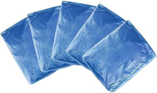 2021 Larcele Disposable lowest online sale Waterproof Raincoat Ponchos for Outdoor Activities Adults Unisex 5packs YCXYY-01 (Blue) online sale