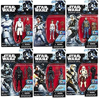 Star Wars Rogue One and Rebels Action Figures 3.75