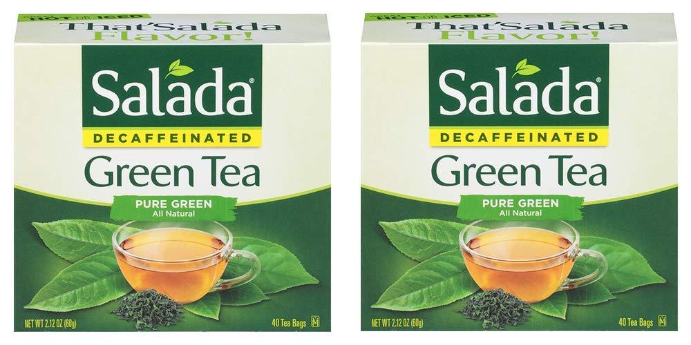 Salada Decaffeinated Pure Green Tea Bags - Decaffeinat Trust Naturally Sales results No. 1
