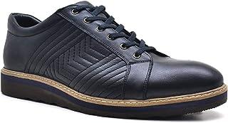 Tardelli Hakiki Deri Yüksek Taban Büyük Numara Erkek Ayakkabı