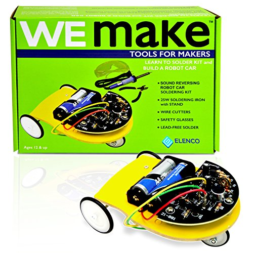 Learn to Solder and Make a Robot Car Kit