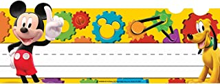 Eureka Back to School Disney Mickey Mouse Classroom Student Name Plates for Teachers, 36pc, 9 5/8'' W X 6 1/2'' H