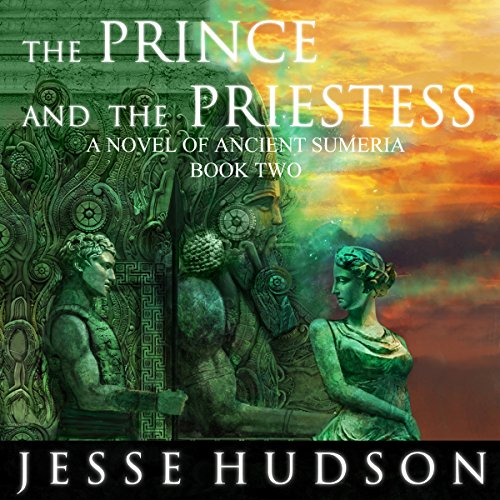 The Prince and the Priestess audiobook cover art