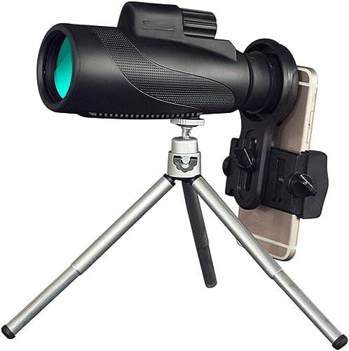 Monokulare Teleskope, 40X50 High Power Prisma Monocular Mit Smartphone-Halter, Wasserdicht Sto st