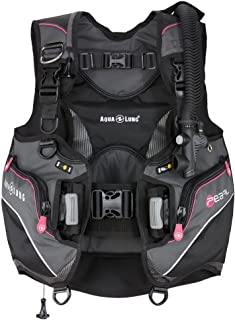 Aqua Lung Pearl Women's BCD (Small, Black/Charcoal/Pink)
