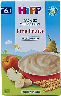 Hipp Organic Milk Pap, Fine fruits, 250g